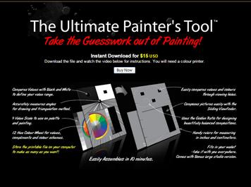 Ultimate Painter's Tool website