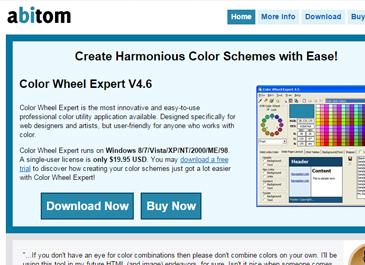 Color wheel expert website