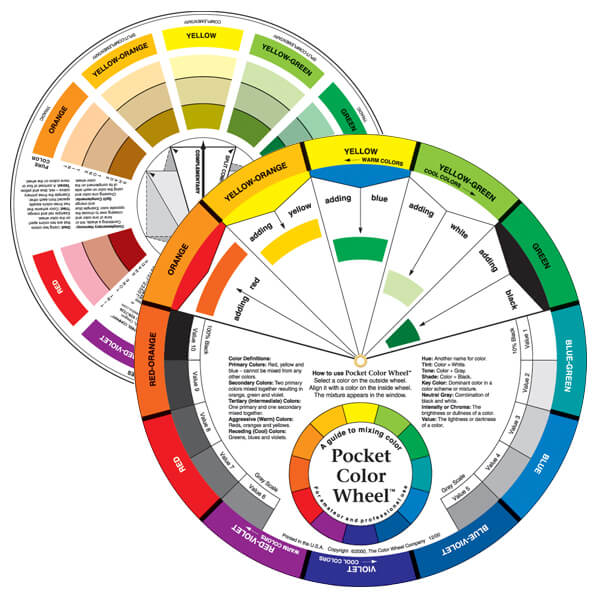 Pocket Color Wheel – 5 1/8″ Diameter