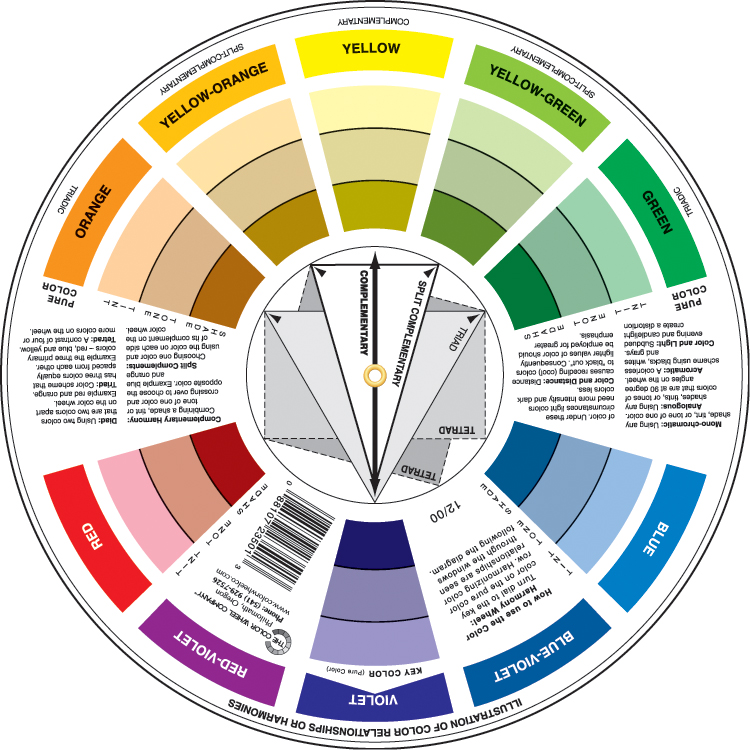 photo regarding Printable Color Wheel Pdf identify Photographs The Shade Wheel Small business