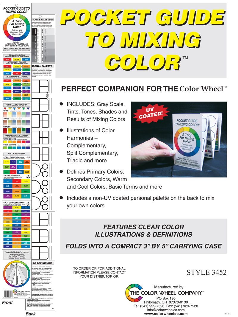 Detailed info on Pocket Guide to Mixing Color