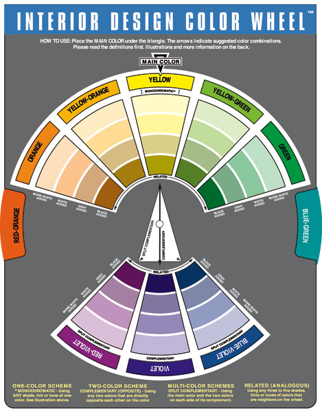 Images the color wheel company - Color wheel interior design ...